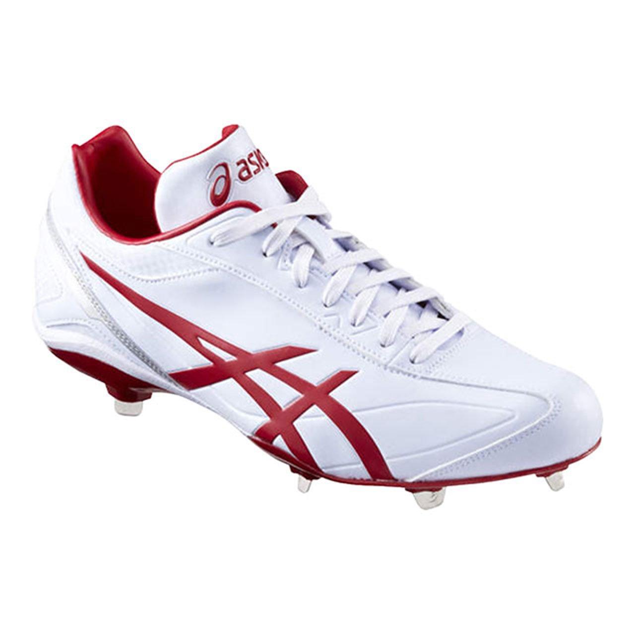 [アシックス] 野球スパイク I DRIVE(現行モデル) B01N6ZHRM8 23.0 cm 0123:ホワイト/レツド 0123:ホワイト/レツド 23.0 cm