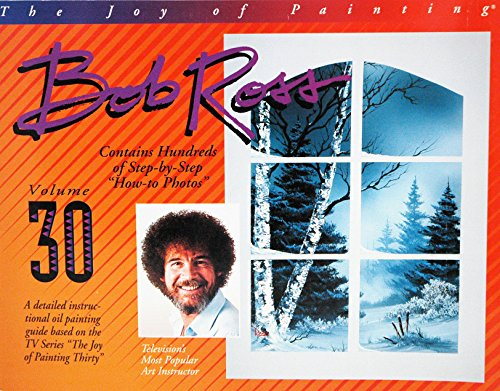 Bob Ross Joy of Painting Book Vol. 30