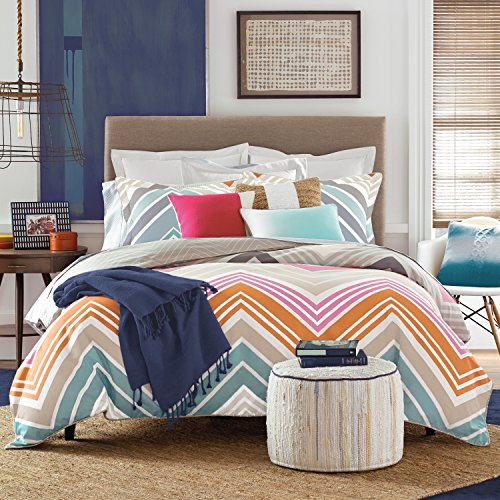 (Tommy Hilfiger Midland Bed Set, Twin/Twin X-Large, Multicolor)