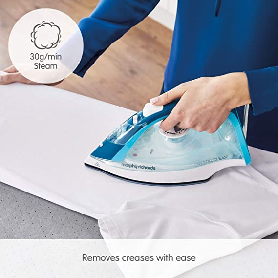 Morphy Richards 300300 Crystal Clear Steam Iron 2400W Blue