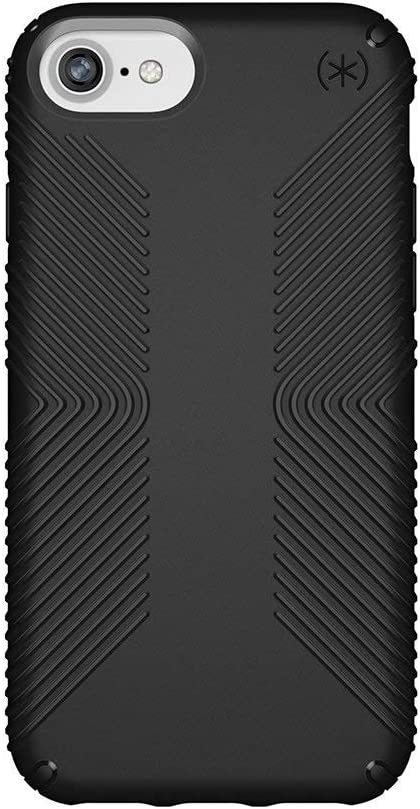 Speck Products Presidio Grip iPhone SE 2020 Case/iPhone 8 (Also Fits 7/6S/6), Black/Black