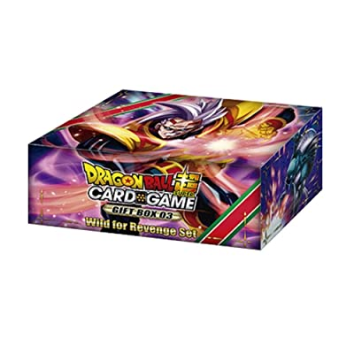 Dragon Ball Super Card Game Series 8 Gift Box 03: Toys & Games