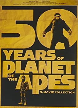 Planet Of The Apes 9 Movie Collection (Blu-ray)