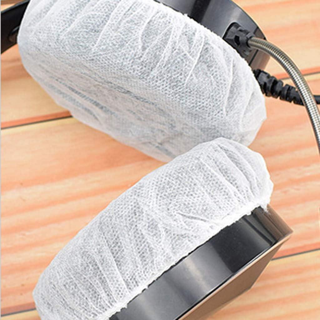 100 unidades, 10 a 12 cm Funda para auriculares desechables Siwetg