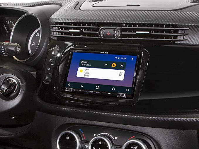 Alpine Ilx 702 940ar 2din Kit Giulietta 7 Inch Apple Carplay Android Car Auto
