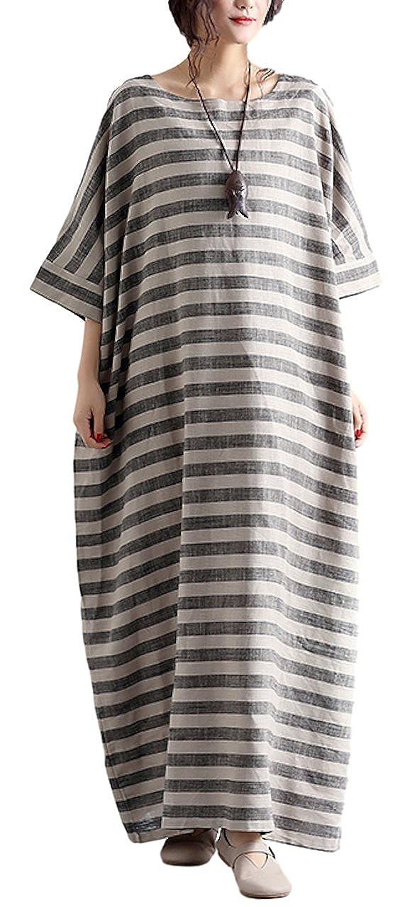 sekitoba-japan.inc Plus Size Grey Dresses for Women Round ...
