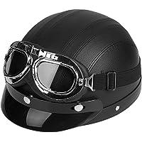 Yctze Medio casco de motocicleta de cara abierta