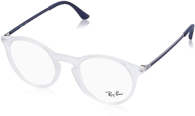 Gafas Ray-Ban de montura transparente y con protección UV.