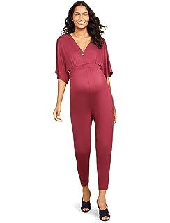 d2b069ae60f37 Amazon.com: Ingrid & Isabel Women's Maternity Jumpsuit: Clothing