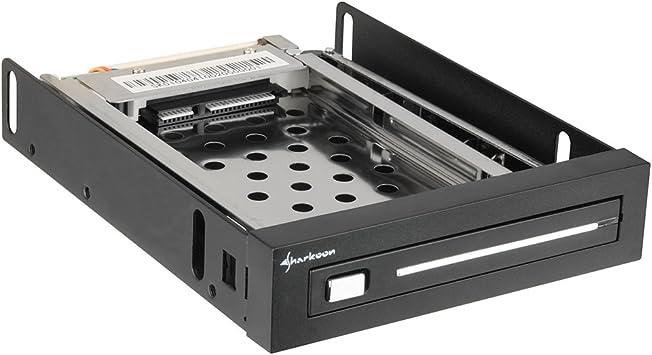 Sharkoon PCD8000 - Caja de Disco Duro, Negro: Amazon.es: Informática