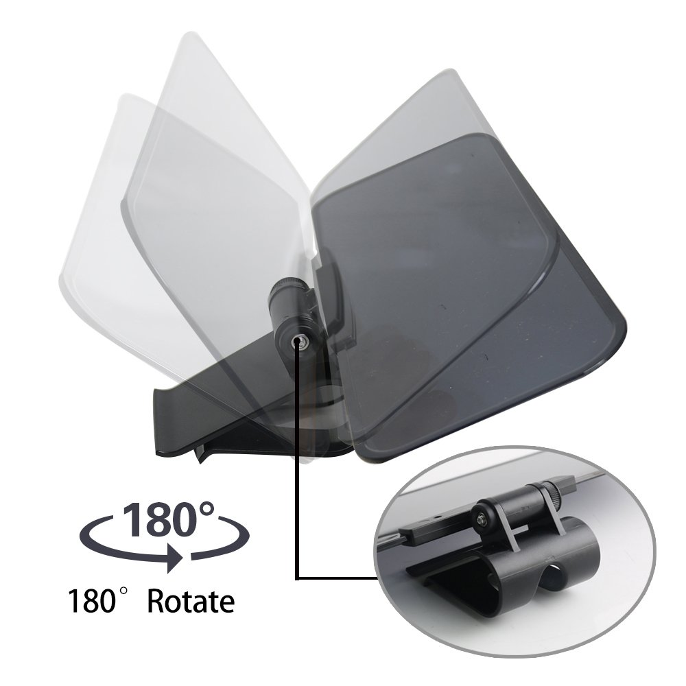 Sunvisor-001 Monopril Car Visor Anti Dazzle Shading Mirror Auto Anti-Glare Clip-on Car Sun Visor Shield Sunshades Suitable for Ford-Series//Benz//BMW and all cars