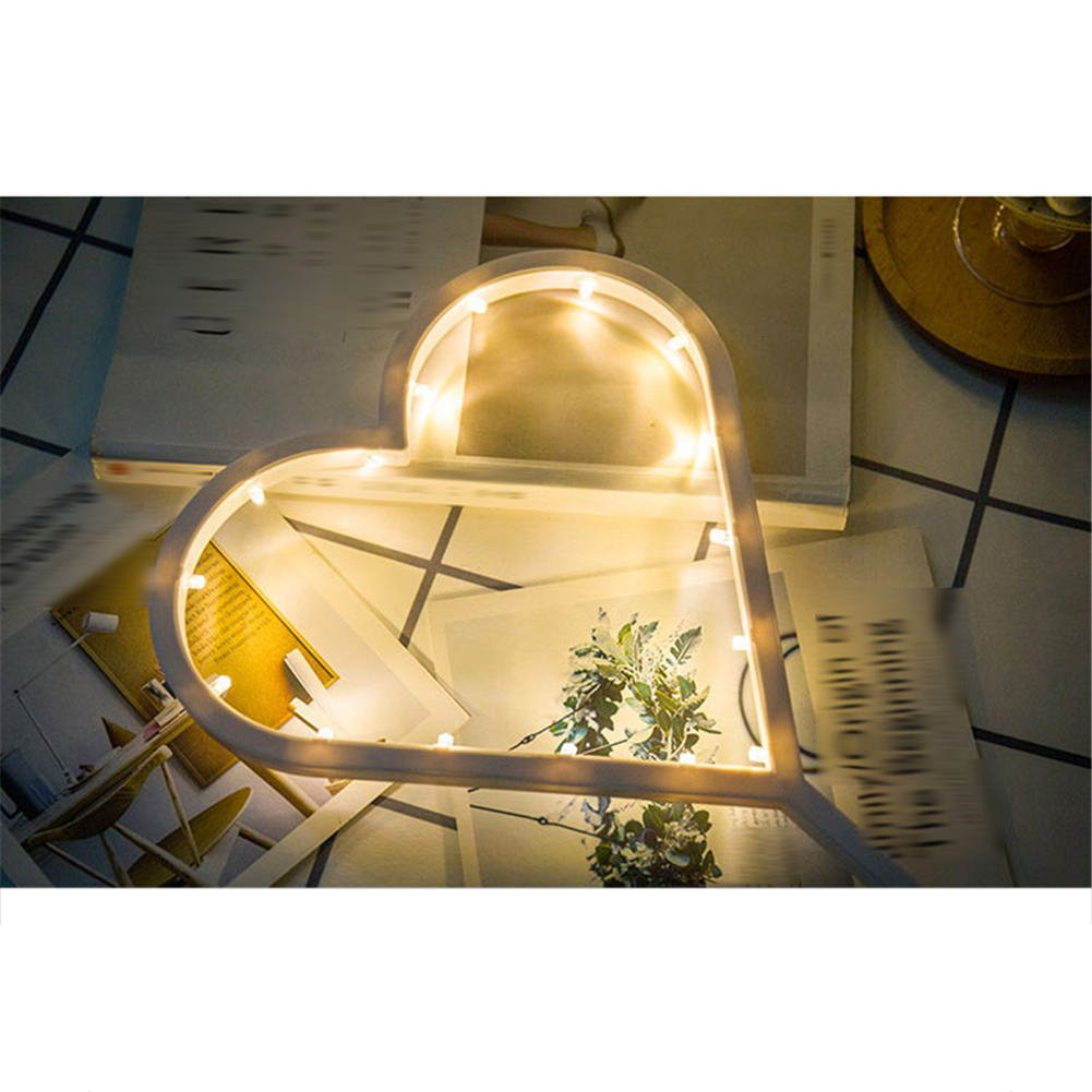 Remeehi Battery Christmas Tree Night Light LED Desk Night Lamp For Kids Gift Xmas Decoration Love by Remeehi (Image #3)