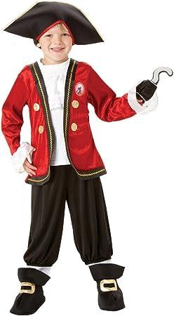 Rubies`s - Disfraz Infantil de Capitán Garfio Deluxe (883979-S ...