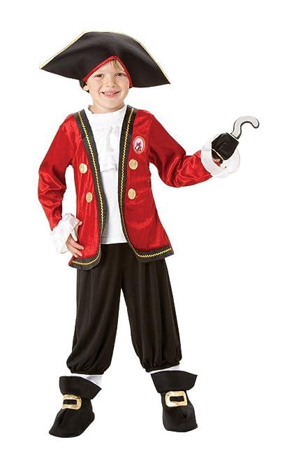 Rubie`s - Disfraz infantil de Capitán Garfio Deluxe (883979-S)
