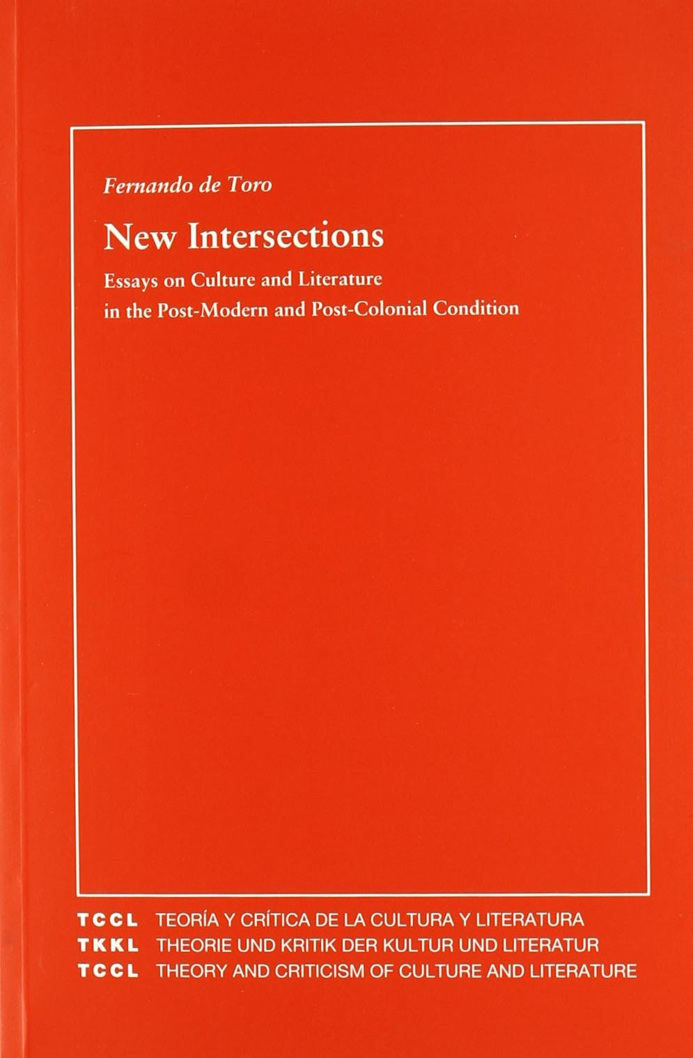 Read Online New Intersections: Essay on Culture and Literature in the Post-modern and Post-colonial Condition ebook