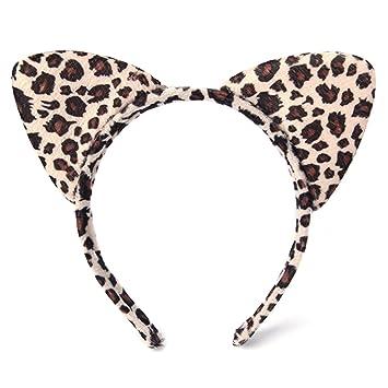 Autone Fox Katze Ohr Form Tier Cosplay Halloween Party Kost/üm Kopfband