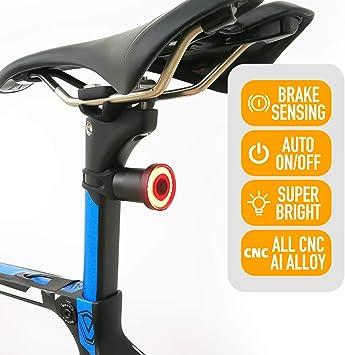 ENFITNIX Luces traseras de bicicleta Xlite 100 USB Recargable Luz ...