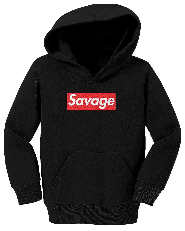 Lit Ruthless Stay Woke Toddler//Youth Fleece Hoodie Tcombo Savage