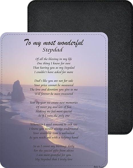 Rikki Knight To My Most Wonderful Stepdad Sailboat At Sunset Ocean Waves Design Poem Design Premium