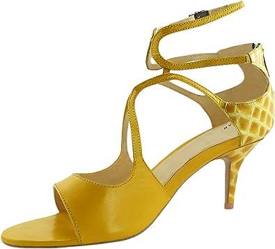 Designer Yellow Heels