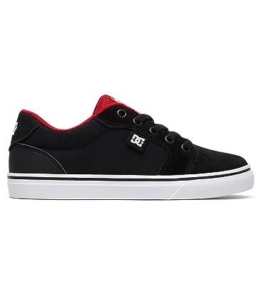 4801b173cc288 DC Shoes Anvil - Chaussures - Garçon Enfant - EU 27.5 - Noir  DC ...
