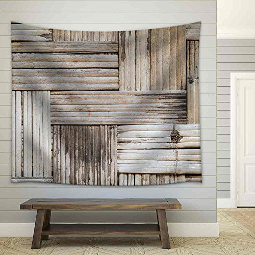 Bamboo Wall Texture and Background Fabric Wall Tapestry