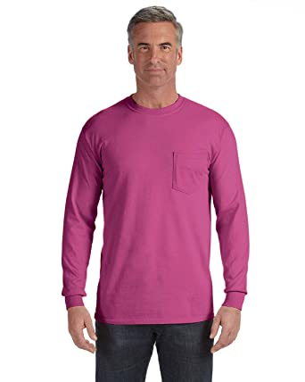 ec71b5de2d123 Amazon.com  Comfort Colors Chouinard 4410 Long Sleeve Heavyweight ...