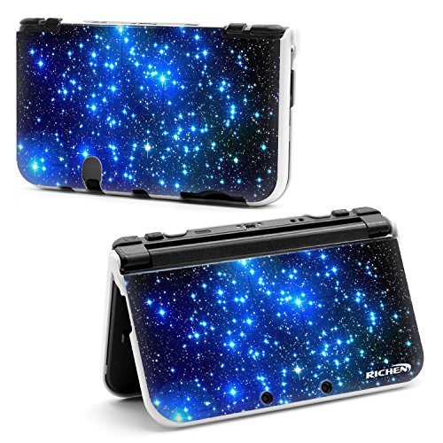 Richen Plastic Hard Shell Case for Nintendo New 3DS XL LL - Starry Sky
