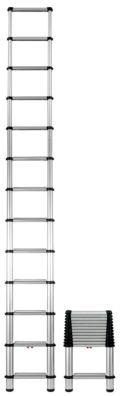 6. Telesteps 1600EP 12.5 ft Aluminum Telescoping Ladder