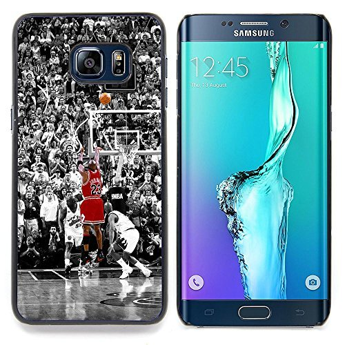// PHONE CASE GIFT // Fashion Hard Case PC Cover Stylish Protective Case for Samsung Galaxy S6 Edge Plus / S6 Edge+ G928 / 23 Basketball Bull /