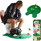 Acrim Toilet Mini Golf Set – Potty Putter Set Bathroom Game Mini Golf Set - Play Golf on the Toilet, Perfect Golf Gift, Golf Putting Novelty Set
