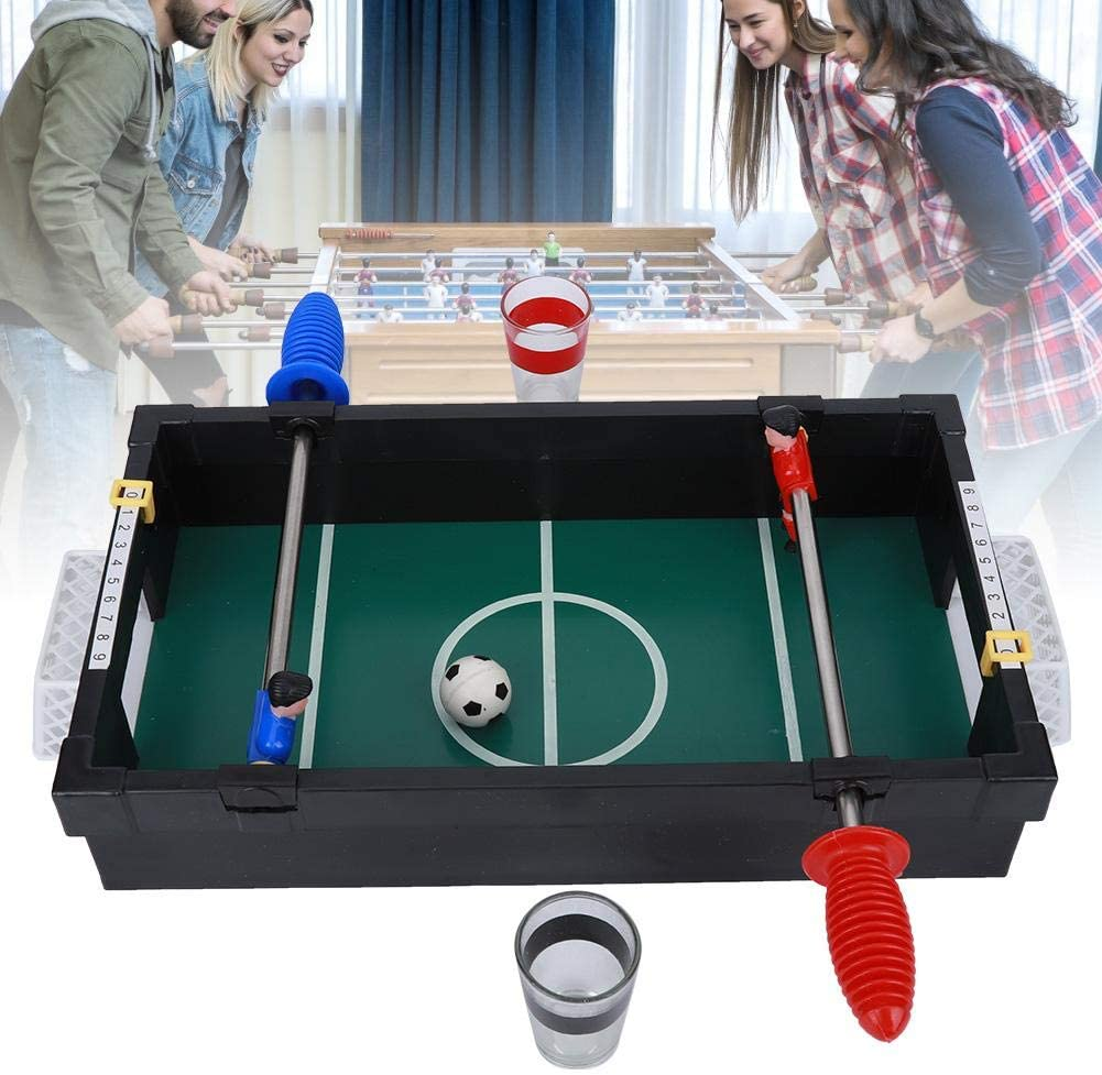Keenso Table Soccer Toy Desktop, de Juego de futbolín clásico Mini ...
