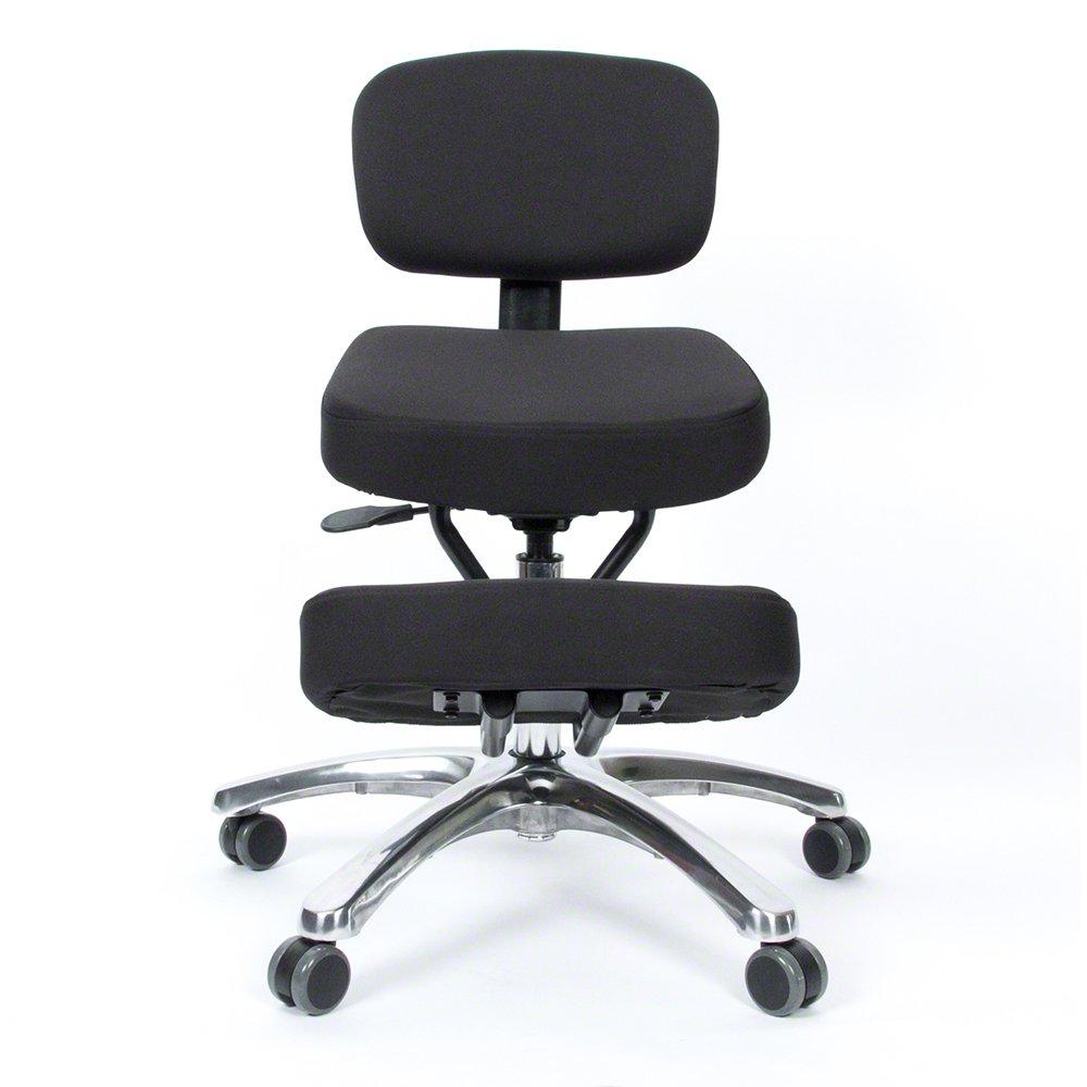 BetterPosture Jazzy Kneeling Chair - Multifunctional Ergonomic Posture Kneeling Chair Helps Reduce Back and Neck Strain by Jazzy Kneeling chair