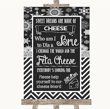 Amazon.com: Cartel de boda personalizable con diseño de ...