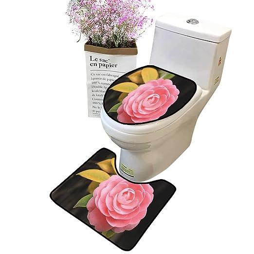 Tapete de baño para Inodoro, diseño de líneas de Vector ...
