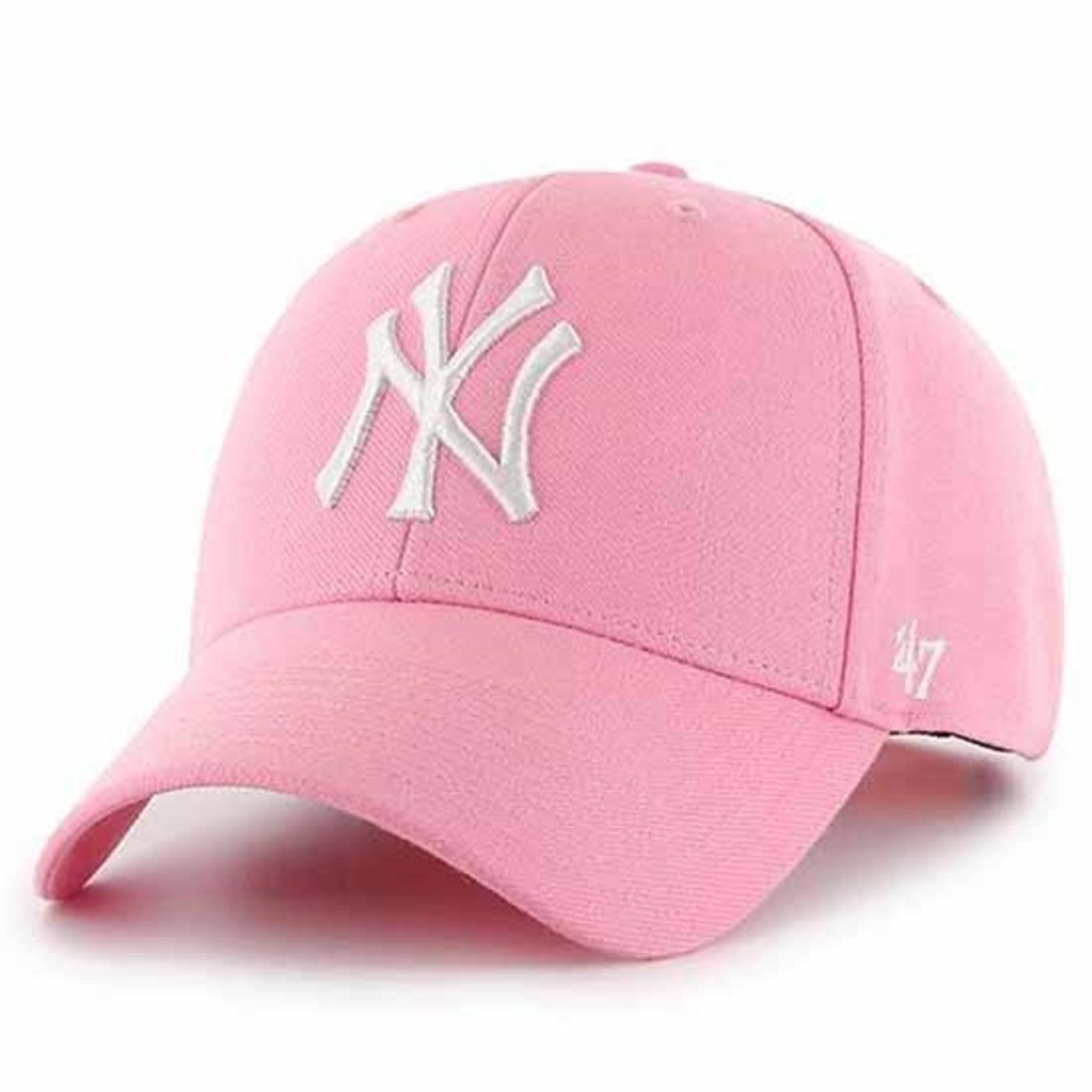 '47 New York Yankees Pink Newborn (Size 0-9 Months) Baseball Cap Hat