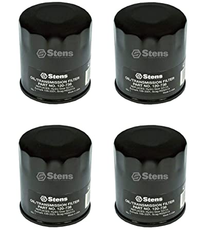 Stens 120-738 Pack of 4 Transmission Filters