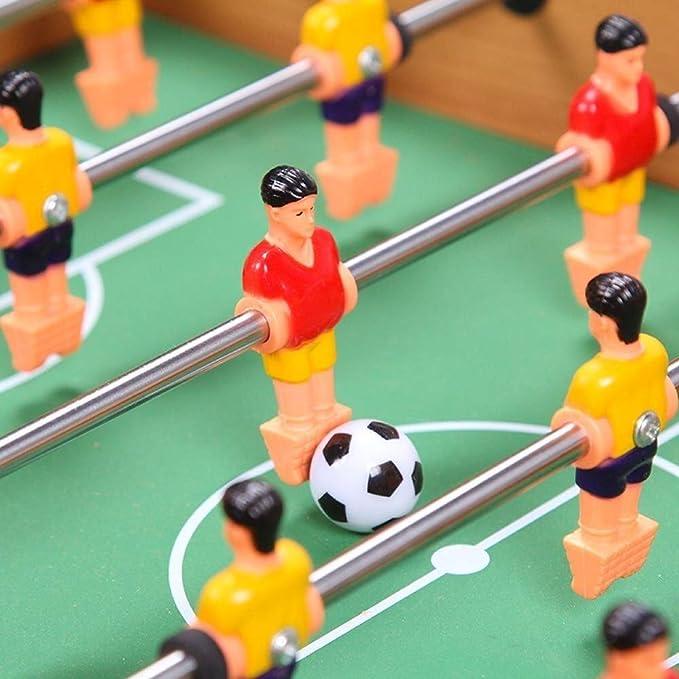 LIULAOHAN Coche de Juguete Juegos educativos A Partir de 3 años, Mini-6 futbolín línea Juguetes Dobles, Beneficios de coordinación Mano-Ojo del Cerebro Regalo de Pascua para niños: Amazon.es: Hogar