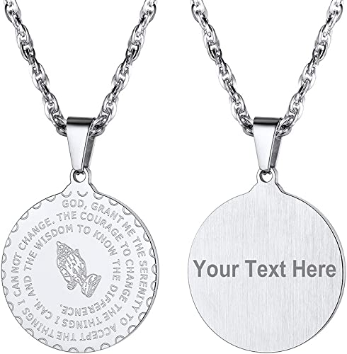 collier homme personalise
