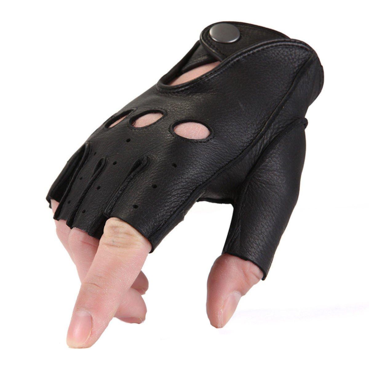 BFMEI Outdoor-Sport Alle Männer Und Frauen Reiten Klettern Anti-Rutsch-Touchscreen Handschuhe,schwarz-L