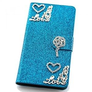 Brillante Funda Para Samsung S5310S5312Galaxy Pocket Neo turquesa Carcasa Funda Bag Bling Case nuevo