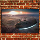 Star Wars Millenium Falcon tv film movie canvas framed wall art print picture poster small medium large
