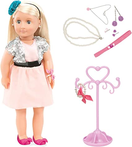 NEW Barbie Style Glam Night Doll Pink Bracelet ~ Jewelry Clothing Accessory