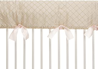 product image for Glenna Jean Contessa Crib Rail Protector, Cream Diamond, Long