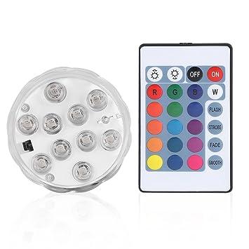 Tauch LED Lichter Wasserdichte LED Farbwechsel Unterwasser ...