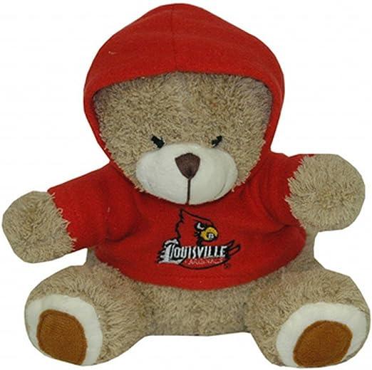 NCAA LSU Tigers Plush Bear with Logo Hoodie Team Color