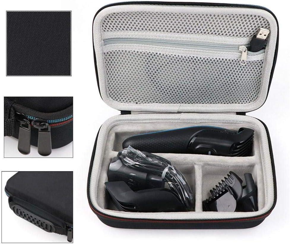 Estuche de almacenamiento de cortapelos Afeitadora portátil Razor Shaver Carry Travel Hard Case Organizer Compatible para Braun MGK 3020/3040/3060/3080 Bolsa de almacenamiento Cubierta protectora: Amazon.es: Hogar