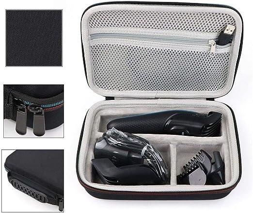 Estuche de almacenamiento de cortapelos Afeitadora portátil Razor Shaver Carry Travel Hard Case Organizer Compatible para Braun MGK 3020/3040/3060/3080 Bolsa de almacenamiento Cubierta protectora: Amazon.es: Amazon.es