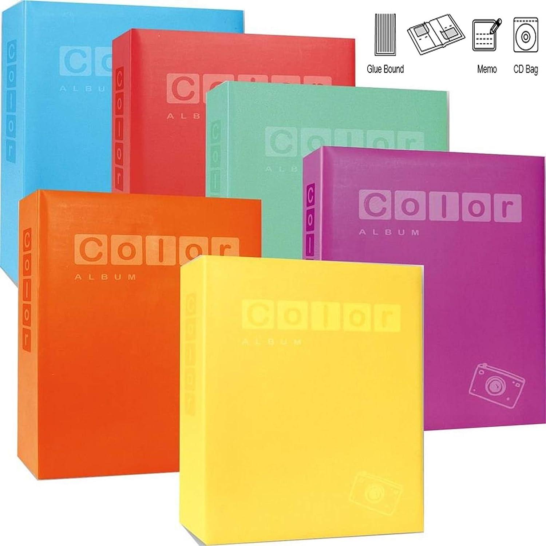 Aurora Store.it Album Fotografico Color memo CD 400 Foto 11x16 10x15 cm portafoto Tasche Vari Colori