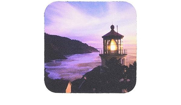 Heceta Head Lighthouse-US38 JWI0141-Jamie and Judy Wild-Soft Coasters 3dRose cst/_93830/_2 Oregon Set of 8